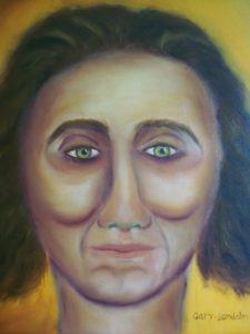 Spirit guide portrait commission. 20 October 2017