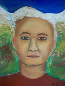 Thong -Spirit guide portrait . commissioned for Luiz. Nov/2019.
