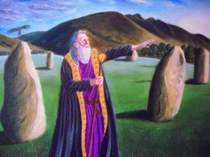 Merlin in Oil